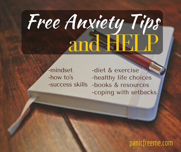 free anxiety tips