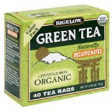 Bigelow Decaffeinated Organic Green Tea