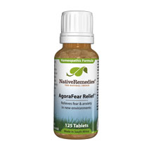 AgoraFear Relief - Natural agoraphobia remedy to help calm fears related to leaving the house and being in crowds.