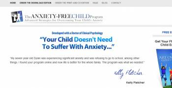 Anxiety Free Child Main Website