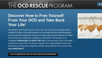 OCD Rescue Program main website