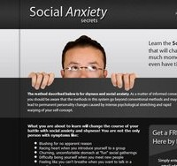Social Anxiety Secrets official website