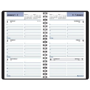 DayMinder Weekly Appointment Book