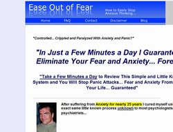 Ease Out of Fear official website