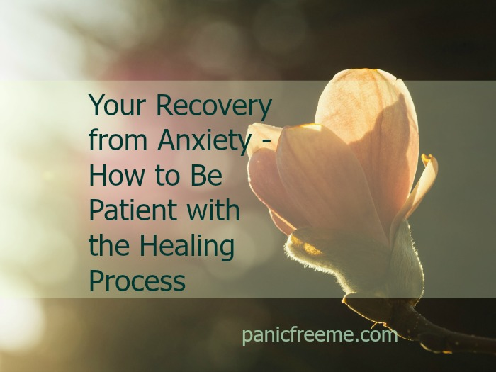 anxiety recovery patience