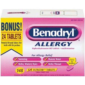 Benadryl- diphenhydramine
