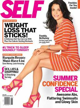 Bethenny Frankel on Self Magazine, May 2012