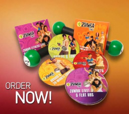 Zumba Fitness Total Body Transformation DVD