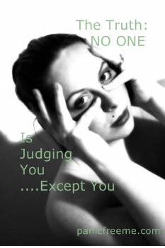 no one is judging you