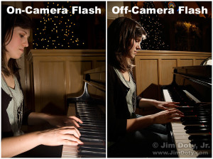 Off Camera and On Camera Flash