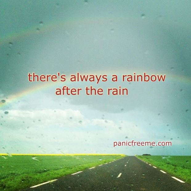 theres always a rainbow after the rain