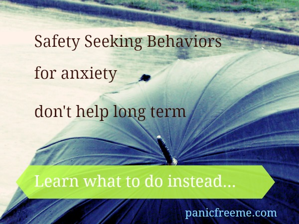 anxiety safety behaviors