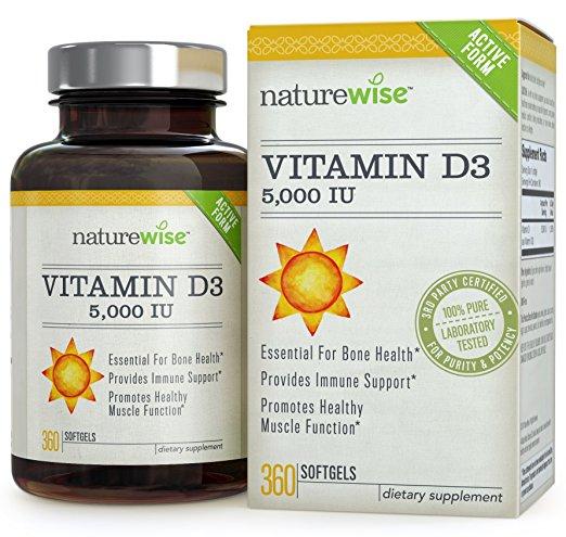 naturewise Vitamin D3 5000 IU